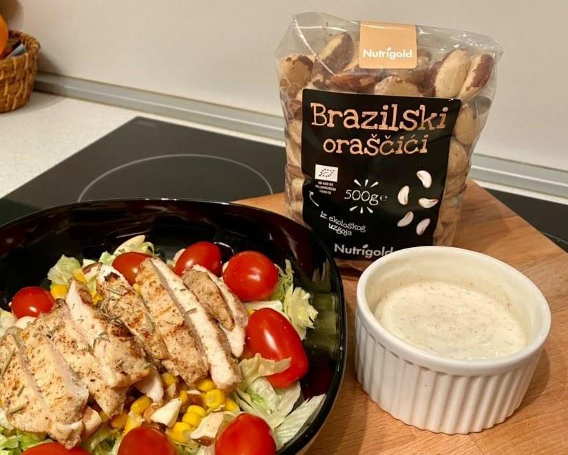 Low carb salata s najdražim dresingom na svijetu!