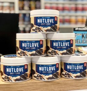 NutLove- Čokoladna krema s hrskavim keksima