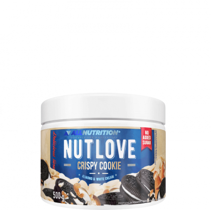 NutLove-Čokoladna Krema s Hrskavim Keksima